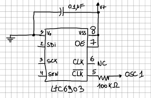 LTC6903 Archives - Eurorack speech synthesizers